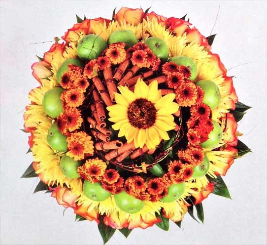 Aprende-de-forma-rapida-construir-disenar-arreglo-floral-colorido-detalle