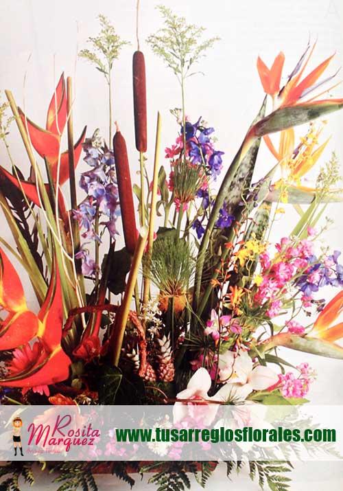 Aprende-diseno-floral-con-orquideas-godetias-fucsia-gerberas