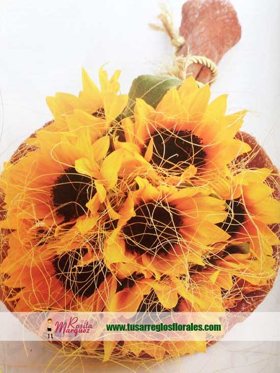 decoracion-floral-con-girasoles-para-eventos