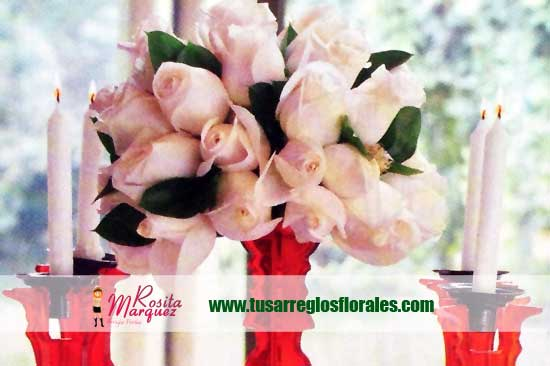 rosas-blancas-para-decoracion-de-bodasymatrimonios