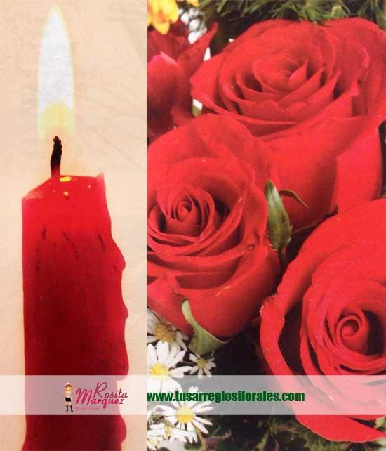 velas-y-rosas-rojas-para-decoracion-con-flores
