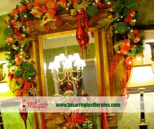 Flores-decorativas-navidad-marcos